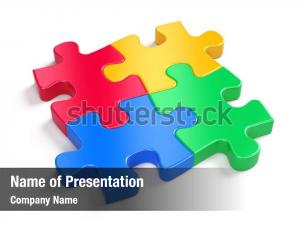 Four colorful puzzles