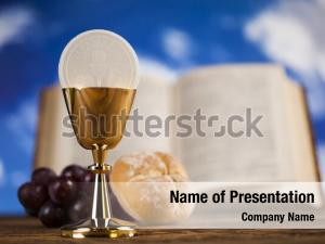 Religious bread holy communion