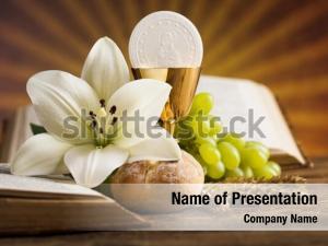 Confession bread holy communion