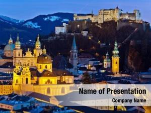 City city view salzburg austria
