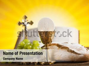 Christianity holy communion bread