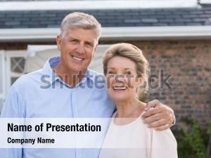 Satisfaction portrait of a happy senior