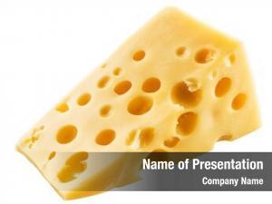 Cheese piece swiss