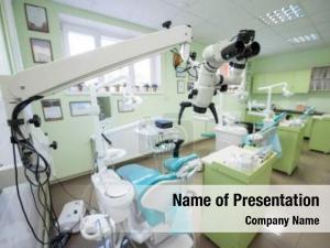 Empty view modern dental surgery