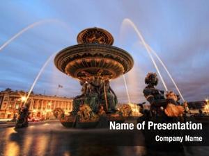 Concord fountain place paris france