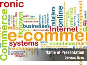 Concept word cloud e commerce electronic