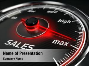 Sales great sales speedometer needle