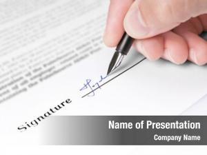 Signature fountain pen