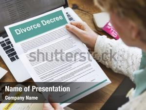 Document decree divorce agreement