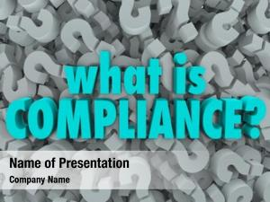 Words what compliance question marks