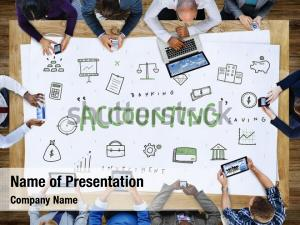 Money accounting powerpoint background