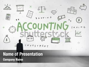 Money accounting powerpoint template
