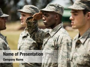 Giving military trainer training military