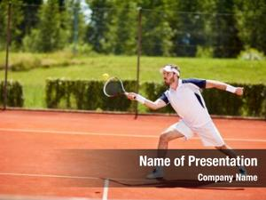 Tennis tennis player court hitting