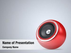 Speakers as ball