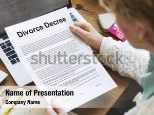 Divorced decree divorce agreement