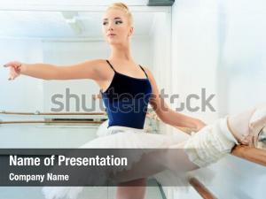 Exercise dancer beautiful ballet