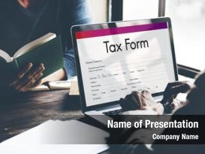 Claim tax credits form concept