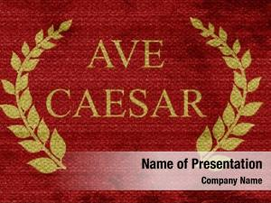Roman ave caesar empire