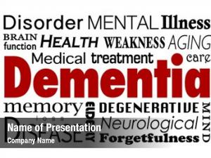 Collage dementia word related medical