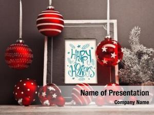 Christmas christmas frame balls
