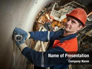 Railway underground metro builder tunnel