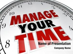 Time manage your words clock