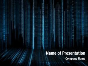 Programming technology, future, matrix black