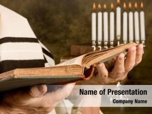 Jewish hands holding prayer book