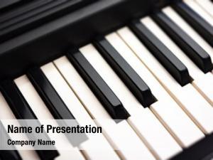 Piano keys elecric keyboard