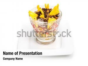 Glass of fresh exotic
