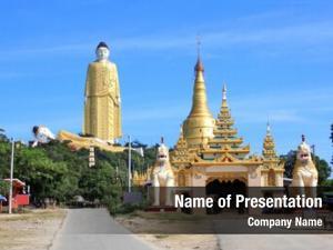 Buddha giant standing skyscraper (170