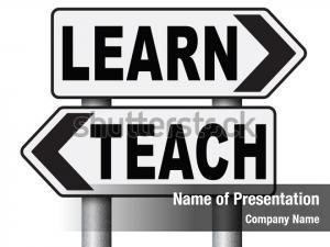 Learn and teach powerpoint theme