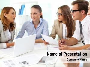 Group large business gathering discuss