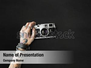 Vintage photography tattoo camera