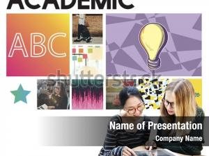 Academic casual powerpoint template