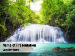Thailand, tropical waterfall nature photography