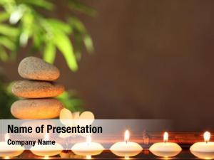 Stones stack zen aromatic candles