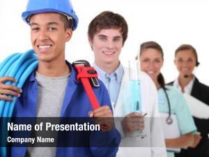 Professions four different focus plumber