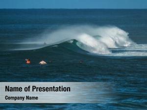Wave surfers wait ocean watch