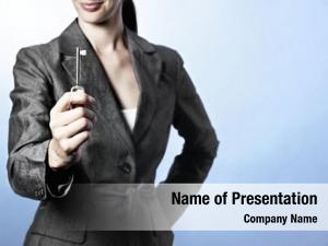 Concept: key success portrait business