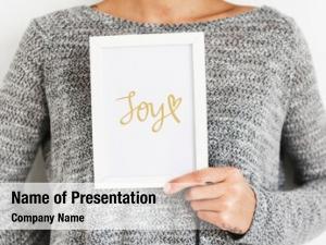 Frame text joy