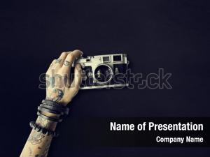 Tattoo camera ppt theme