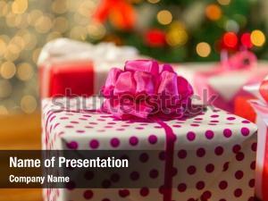 Evening presents christmas holidays