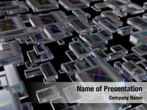 Cubes, array transparent