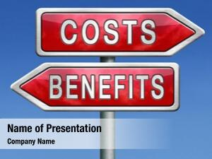 Analysis costs benefits business management