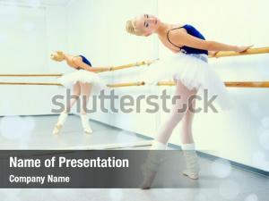 Beautiful ballet ppt template