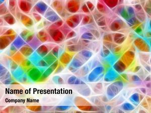 Grid multicolored fractal