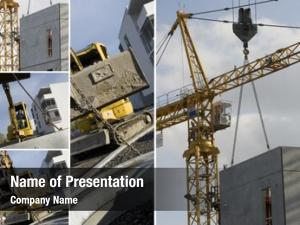 Machinery collage construction