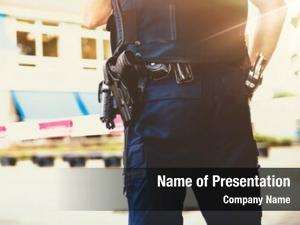 Scene policeman crime